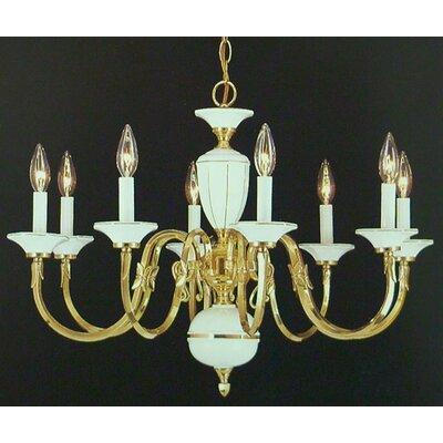 Hampton 8-Light Candle-Style Chandelier