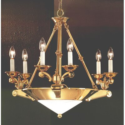 7-Light Candle-Style Chandelier