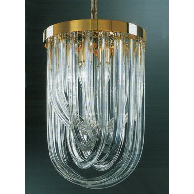 Murano 9-Light Crystal Chandelier