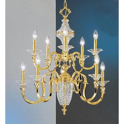 Weatherford 10-Light Candle-Style Chandelier