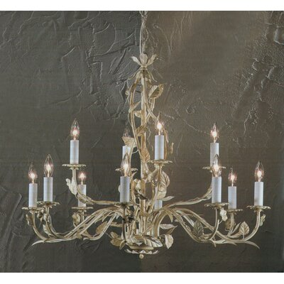 Crystal 12-Light Crystal Chandelier