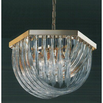 Murano 6-Light Crystal Chandelier