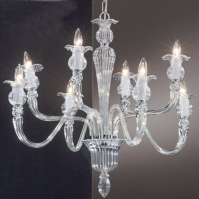 Palermo 8-Light Crystal Chandelier