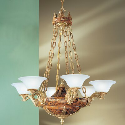 Queen Isabela 6-Light Shaded Chandelier