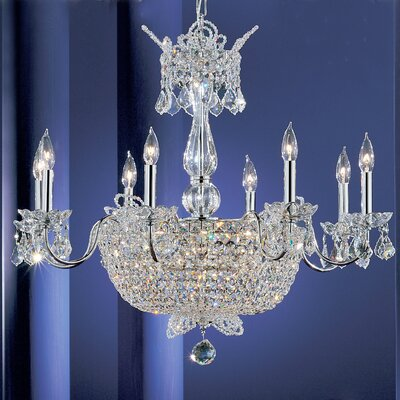 Crown Jewels 24-Light Crystal Chandelier Finish: Chrome, Crystal Type: Crystalique-Plus