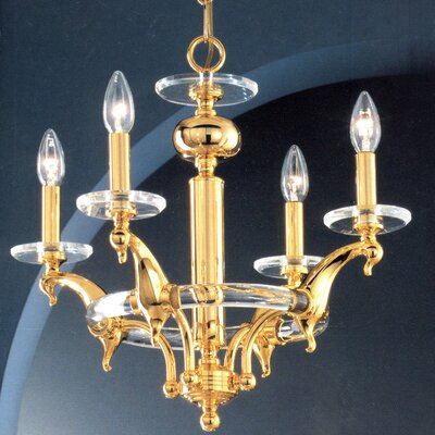 Cresskill 4-Light Candle-Style Chandelier