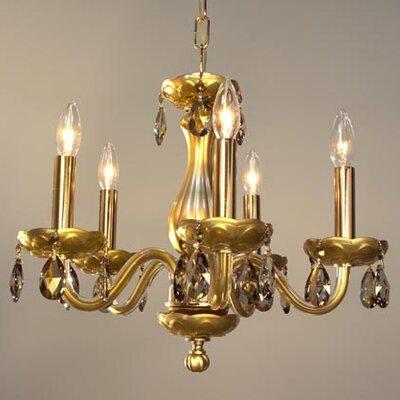 Monaco 5-Light Candle-Style Chandelier