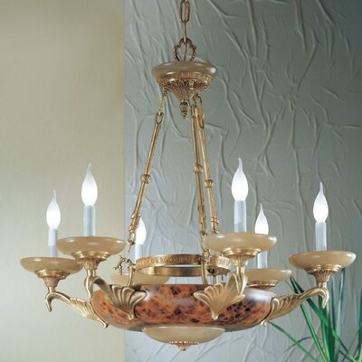 Queen Anne II 6-Light Candle-Style Chandelier