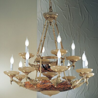 Queen Anne II 14-Light Candle-Style Chandelier