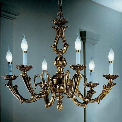 Alexandria III 6-Light Candle-Style Chandelier