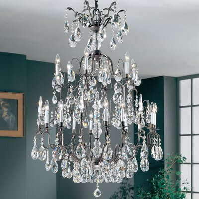 Versailles 19-Light Crystal Chandelier Crystal Type: Swarovski Spectra