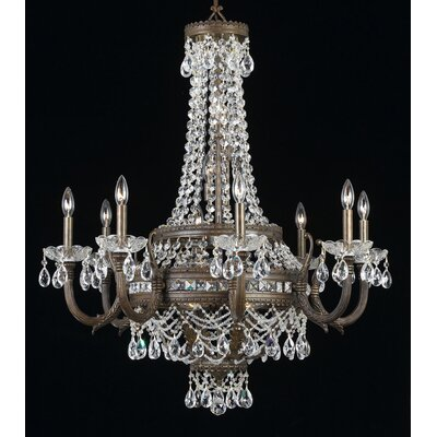 Contessa 16-Light Candle-Style Chandelier Finish: English Bronze