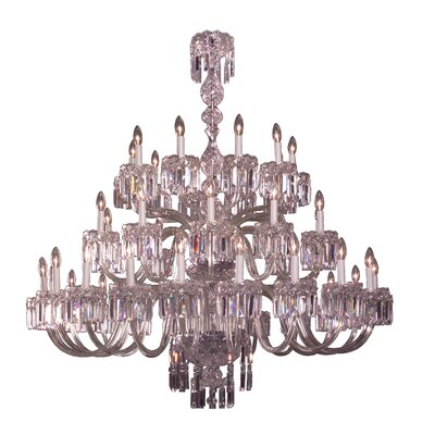Buckingham 40-Light Crystal Chandelier