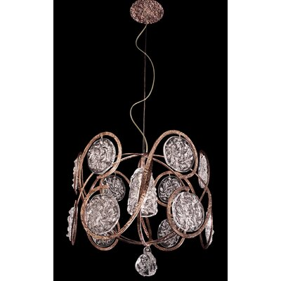 Celeste 1-Light Drum Pendant Finish: Winter Bronze