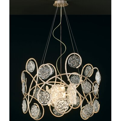 Celeste 11-Light Crystal Chandelier Finish: Silver Frost