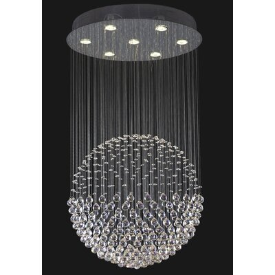Corpi Celeste 7-Light Crystal Chandelier