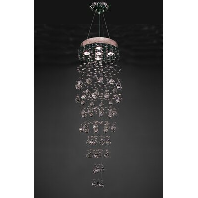 Andromeda 5-Light Crystal Chandelier