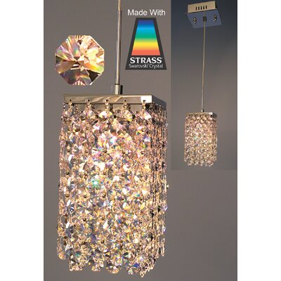 Bedazzle 1-Light Mini Pendant