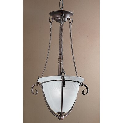 Lugano 1-Light Semi Flush Mount