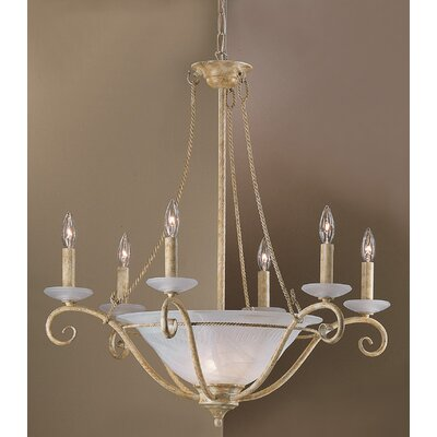 Lugano 9-Light Candle-Style Chandelier