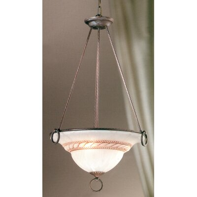 Livorno 3-Light Inverted Pendant Finish: Bronze