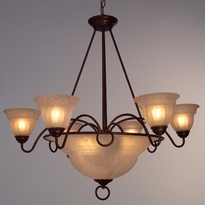 Livorno 9-Light Pendant Finish: English Bronze