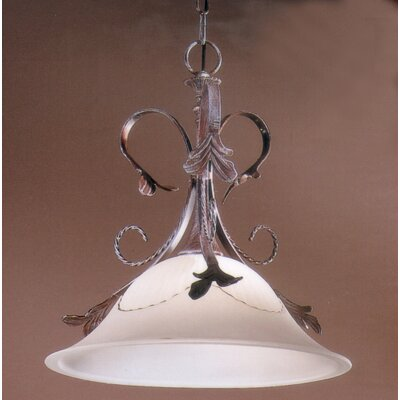 Treviso 1-Light Inverted Pendant Finish: Weathered Clay