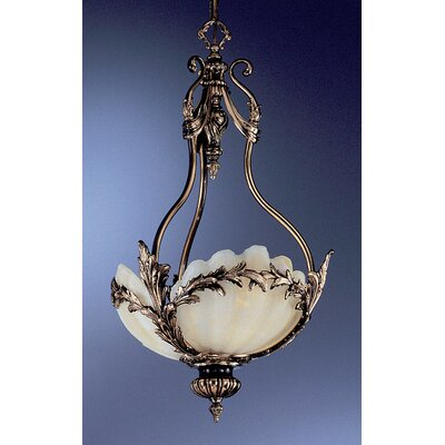 La Paloma 3-Light Inverted Pendant Finish: Antique Bronze