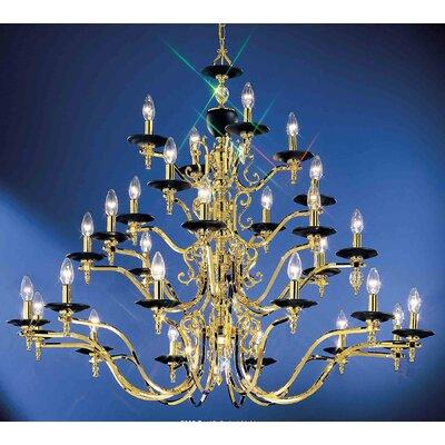 Ridgewood 28-Light Crystal Chandelier