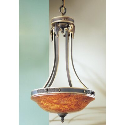 Venetian 3-Light Inverted Pendant