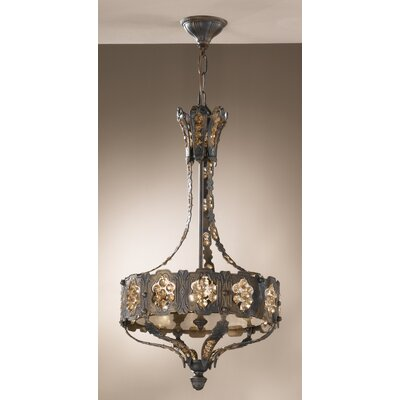 Castillio de Bronce 3-Light Foyer Pendant