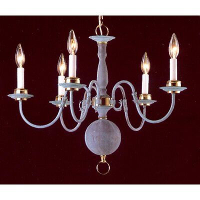 Classic Williamsburgs 5-Light Candle-Style Chandelier