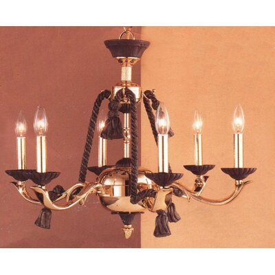 Orleans 6-Light Candle-Style Chandelier