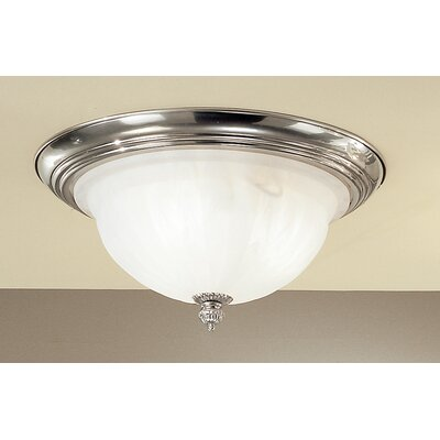 Yorkshire II 3-Light Semi-Flush Mount