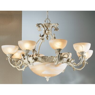 Montego Bay 12-Light Shaded Chandelier Finish: Sorrento Gold