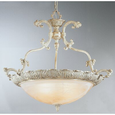 Montego Bay 4-Light Inverted Pendant Finish: Sorrento Gold