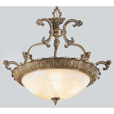 Montego Bay 4-Light Inverted Pendant Finish: Roman Bronze