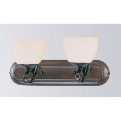 Odyssey 2-Light Vanity Light Finish: Oil Rubbed Bronze