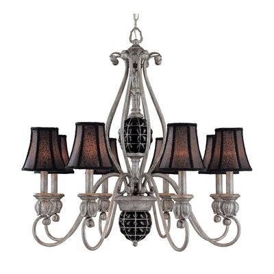 Catturatto 8-Light Shaded Chandelier