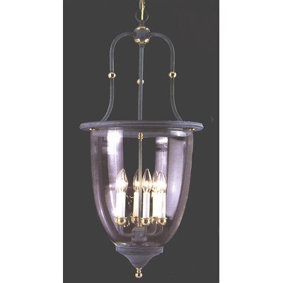 Asheville 6-Light Bell Lantern Pendant