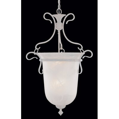 Bellwether 6-Light Bell Lantern Pendant Finish: Sand White