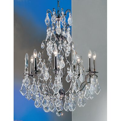 Versailles 9-Light Crystal Chandelier