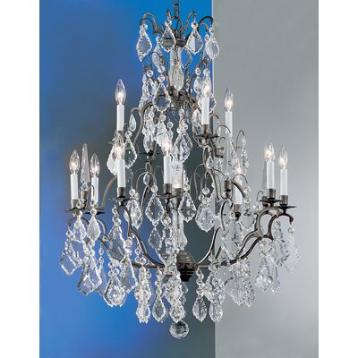 Versailles 13-Light Crystal Chandelier