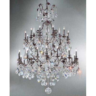 Versailles 30-Light Crystal Chandelier