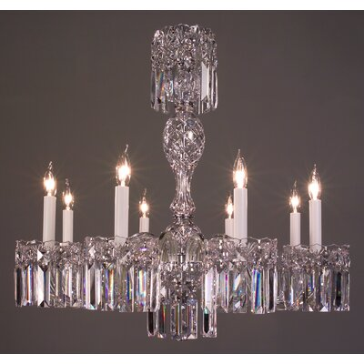 Buckingham 8-Light Crystal Chandelier Crystal Type: Swarovski Spectra