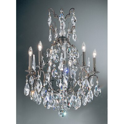 Versailles 7-Light Crystal Chandelier Crystal Type: Swarovski Elements