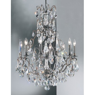 Versailles 9-Light Crystal Chandelier Crystal Type: Swarovski Spectra