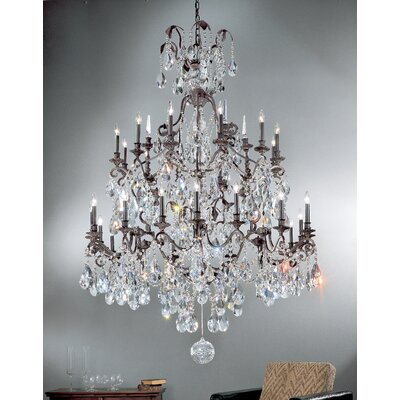 Versailles 30-Light Crystal Chandelier Crystal Type: Swarovski Spectra