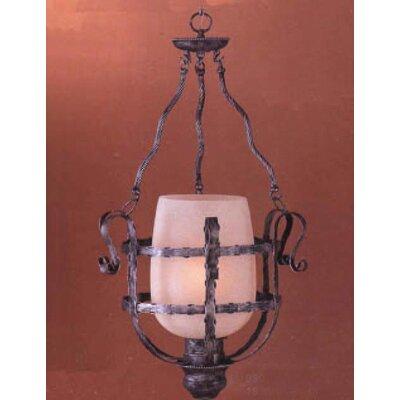 Malaga 1-Light Bell Lantern Pendant