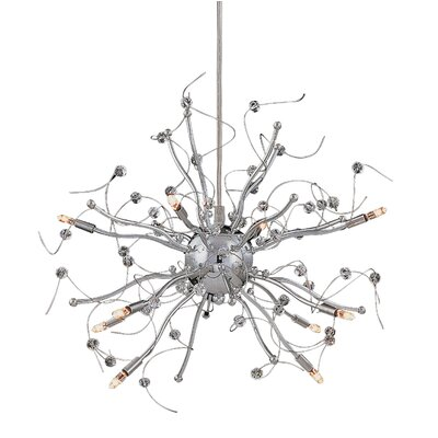 Nitro 10-Light Sputnik Chandelier